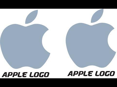 Illustrator CC Tutorial || How to Make Logo Design in Illustrator || Apple Logo