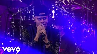 J. Cole - Trouble (Live on Letterman)