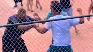 Parents Fight During Kids' Baseball Game