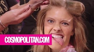 Victoria's Secret Models' Funniest and Sexiest Faces | Cosmopolitan