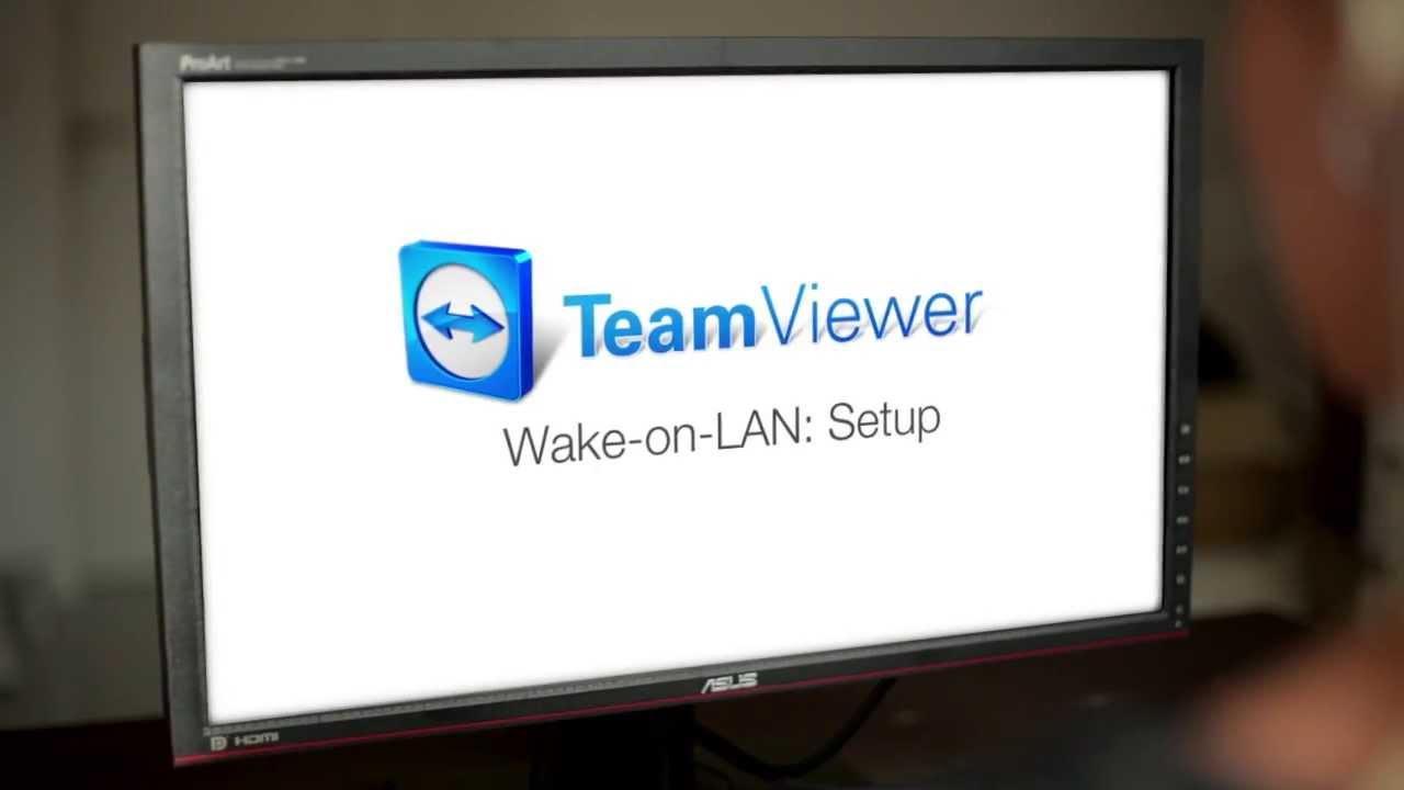 TeamViewer 9 Features Wake On LAN Setup YouTube