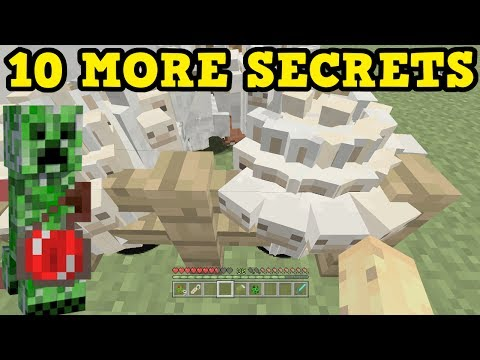 Minecraft Xbox One / PS4 - 10 MORE TU54 SECRETS