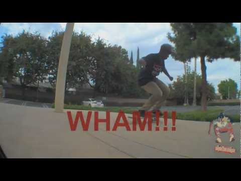 Nollie tre flip battle - Greg Harris