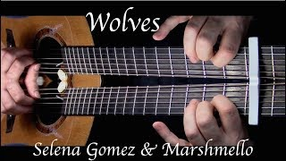 Download Lagu Selena Gomez, Marshmello - Wolves - Fingerstyle Guitar Gratis STAFABAND