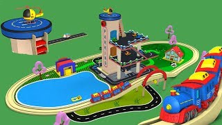 Train videos - chu chu train - Toy Factory - Toy Train for children - Cartoon Train for kids