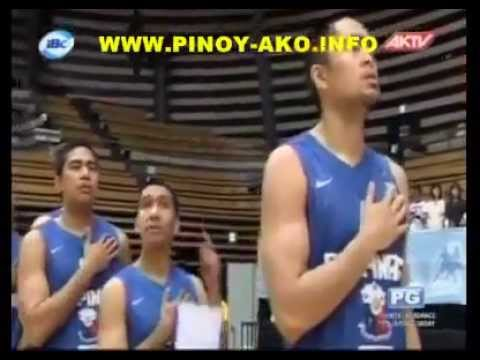 Smart Gilas - Lupang Hinirang (philippine National Anthem) video