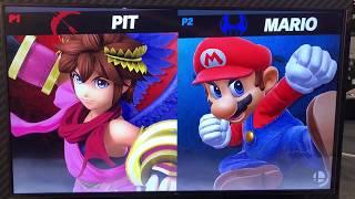 Pit vs Mario - Armageddon Expo 2018 Super Smash Bros Ultimate Demo