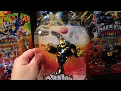CoinOpTV - Collecting SKYLANDERS GIANTS Launch Figures