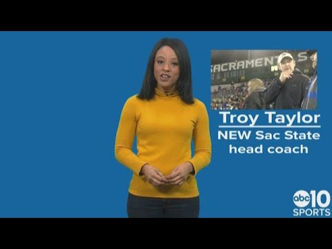Sacramento State names Troy Taylor as new head football coach