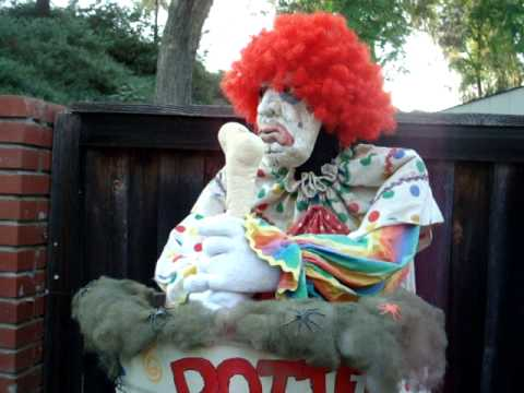 Quot Rotten Candy Quot Stirring Clown Prop Youtube