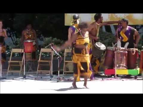 African American Cultural Center Drum & Dance Performers