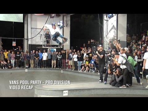 Vans Pool Party 2015, Pro Division