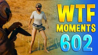 PUBG WTF Funny Daily Moments Highlights Ep 602