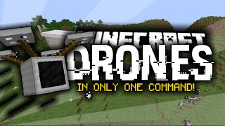 Minecraft: QUADCOPTERS/DRONES (Only One Command)