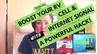 RV CELL PHONE & INTERNET SOLUTION! BOOSTER REVIEWS AND HACK!!