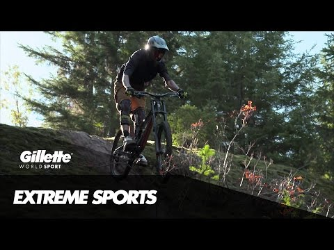 Downhill Mountain Biking with Dave Watson | Gillette World Sport