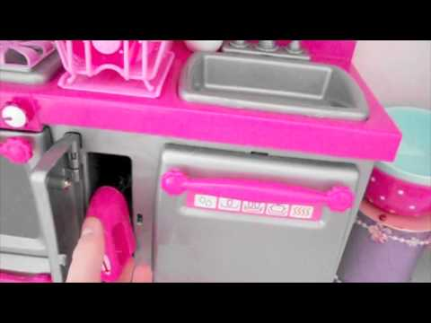 Review & Tour of the Our Generation Doll Kitchen