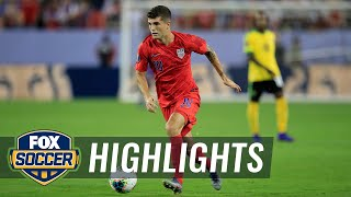 Christian Pulisic doubles USMNT lead vs. Jamaica | 2019 CONCACAF Gold Cup Highlights