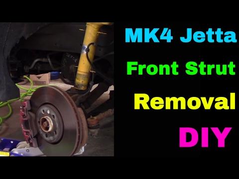 MK4 Jetta Front Strut Removal