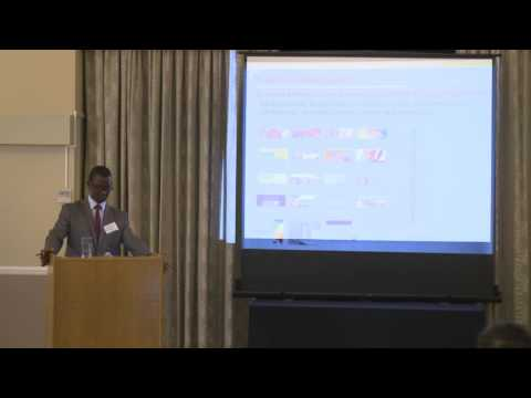 Research on the effects of climate change on crops -  Joshua Okonya