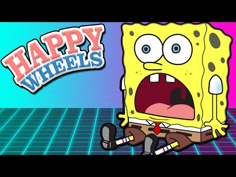 Spongebob Levels! - Happy Wheels W  Chimneyswift11 video