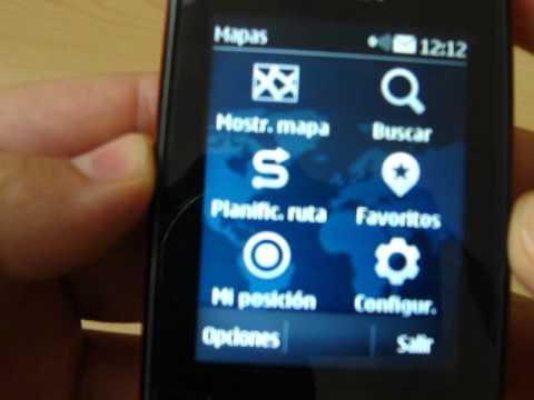 Nokia Maps S40 sobre un Nokia Asha 303