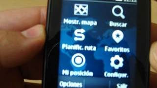 Nokia Maps S40 sobre un Nokia Asha 303