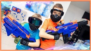 Nerf Infinus Special Forces! Nerf Blaster Obstacle Course with Nerf Infinus Blasters