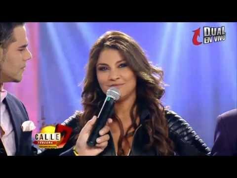 Presentación de Jacqueline Gaete en Calle7 Ecuador