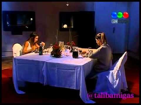 Cena de nominadas  Florencia y Noelia