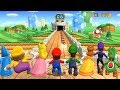 Mario Party 9 All Characters Goomba Bowling Gameplay mp3