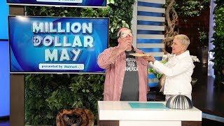 Ellen Tests José Andrés' Taste Buds for Million Dollar May