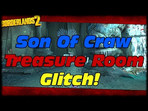 Borderlands 2 How To Glitch Into Son Of Crawmerax's Treasure Room Armory!