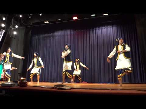 Gidda-Bhangra at the 2nd Cultural Night 87th FC LBSNAA