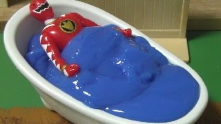 Power Rangers Dino Thunder Bath time Toys 파워레인저 다이노썬더 목욕놀이 장난감