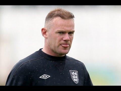 Wayne Rooney reveals new look hair