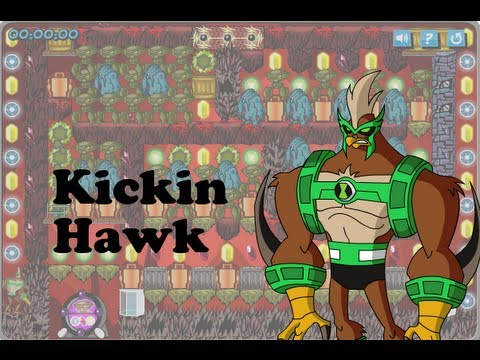 Ben10 GameCreator – Kickin Hawk ( Solar Adventure Kickin Hawk )