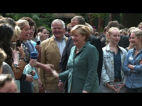 Angela Merkel: dominant force in German politics
