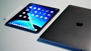 iPad Pro (iPadOS) vs MacBook Pro (Catalina)