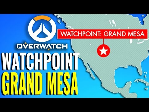 Watchpoint Grand Mesa Map Reveal at Blizzcon?! [Overwatch Theory]