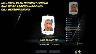 FIFA ONLINE 3 Open Pack Ultimate Legend 114pcs  and Word Legend 165pcs