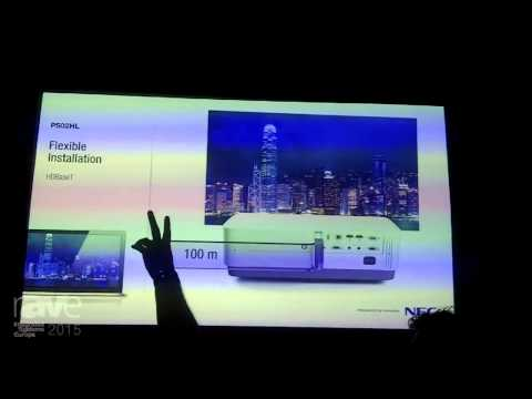 ISE 2015: NEC Tells rAVe About P502HL Laser Projector