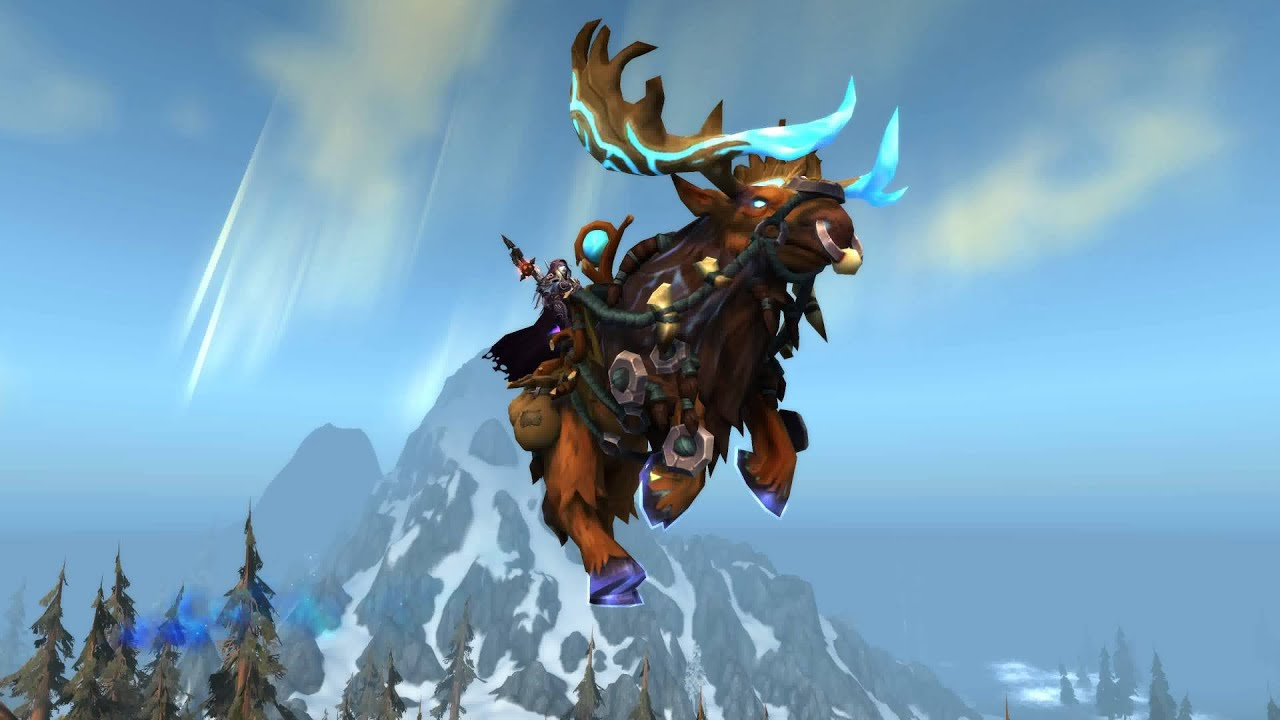 Mounts world of warcraft sexy video