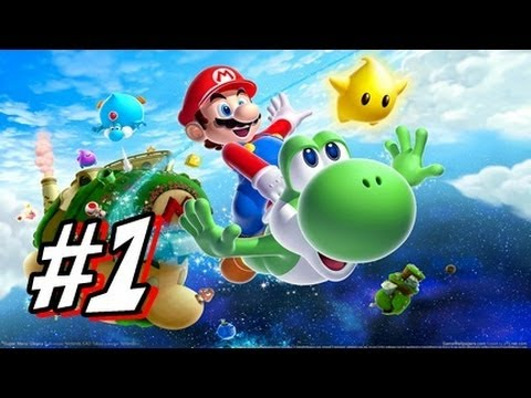 Let's Play Super Mario Galaxy 2 - Part 1