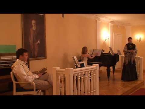 Первая встреча Пушкина и Натали (читает Е. Рудерман)