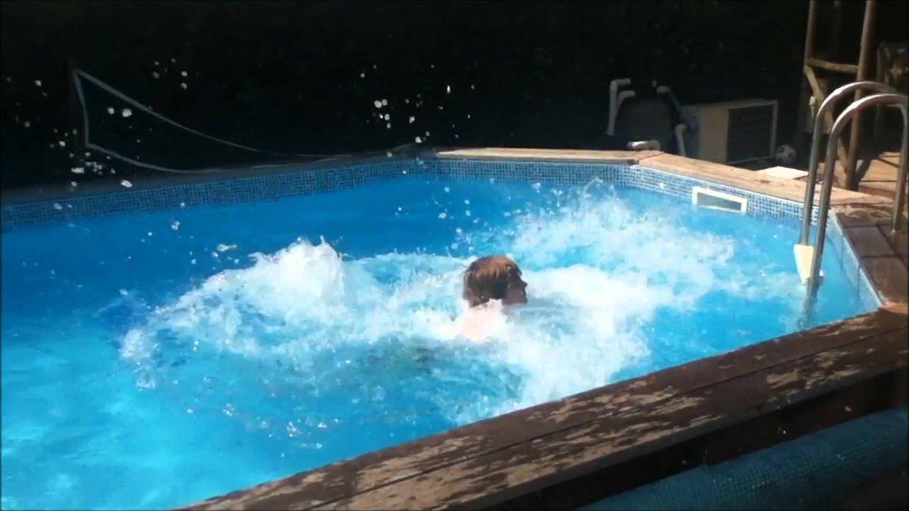 Insane Swimming Pool Skateboard Tricks Youtube