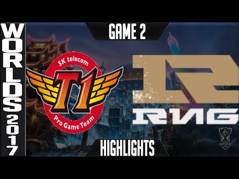 SKT vs RNG Highlights Game 2 - Semifinal World Championship 2017 SK Telecom T1 vs Royal G2