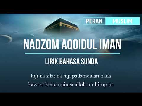 Sholawat Nadzom Aqo'idul Iman   Basa Sunda 50 sifat alloh