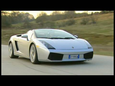 Lamborghini Gallardo Spyder: Rennfahrer Pierre Kaffer macht den Performance-Test