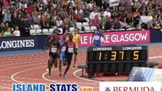 Bermuda's Smith, Evans, Dill & Smith Track